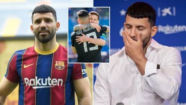Aguero Wants To Leave Barcelona See Why