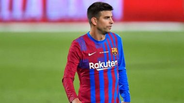 Pique Insists All Four Barcelona Captains Will Take Pay Cut