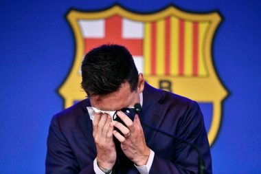 I Feel Like Crying For Messi