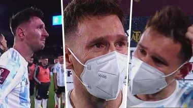 Messi Cries After He Broke Pele's Goalscoring Record (VIDEO)