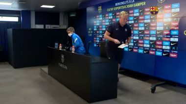 Under-fire Koeman Refuses To Answer Questions In Barca Press Conference