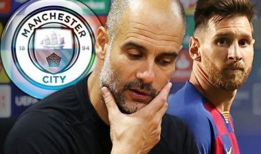 Pep Guardiola Asked Where Lionel Messi Was In Man City's Dressing Room - Nasri