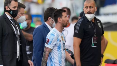 Brazil Vs Argentina: What Lionel Messi Told Officials Who Stormed Pitch