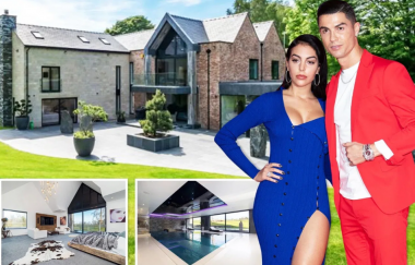 Inside The N13bn Mansion Ronaldo Will Be Staying At Manchester (Photos)