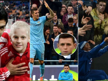 4 ball boys who became professional footballers