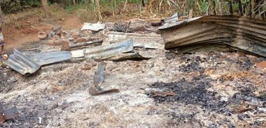 Man burns his house, digs his own grave and commits suicide